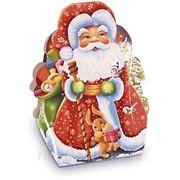 Сладкий новогодний подарок Дед мороз, 300 г.