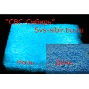 Аэрозольна краска, голубая - ГОЛУБОЕ свечение фото
