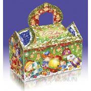 Упаковка для новогодних подарков «Домик друзей», 1000 г фото