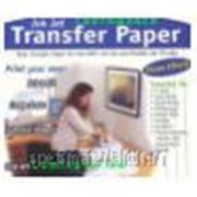 Бумага термотрансферная для перенесения светящегося в темноте изображения (используется обычный струйный принтер) на светлую или темную х/б ткань, А4, фото