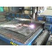 Резка газовая листового металла фото