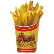 """Упаковка для чипсов и картофеля фри """"chips"""" фото"""