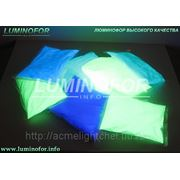 Люминофор длительного свечения BLO-7B( для пластика, красок стекла) фото