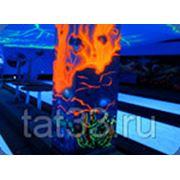 Термостойкая светящаяся краска фото