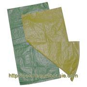 Мешки полипропиленовые строительные (зеленые) фото