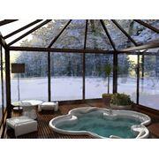 Проектирование зимних садов и теплиц фото