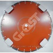 Диск по асфальту для швонарезчика D500 мм (500*25,4*4.2*10) GrOST GROST арт. 105669 фото