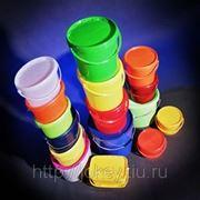 Ведра пластиковые от 0,25 до 32 л, герметичные, с контрольным замком для пищевых продуктов и ЛКМ
