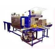 Упаковочная линия УМ-1 Автомат Автоматическая групповая упаковка банок бутылок фото