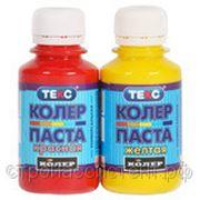 ТЕКС Паста колеровочная универсальная красно-коричневая 0,1л фото