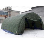 Надувная мобильная палатка Арка Арктик -50'С Pnevmo-Sib 6х5,4х2,6 м фото