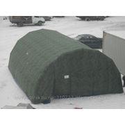 Надувная мобильная палатка Арка Арктик -50'С Pnevmo-Sib 8х6х3 м фото
