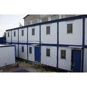 Модульные здания, мобильные здания, общежития фото