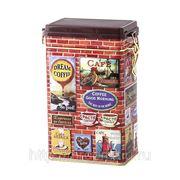"""Банка для кофе """"brique"""" 107*65*179 мм.250 гр.без упаковки (841013) фото"""