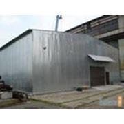 Ангары быстровозводимые модульные здания от1350руб.кв.м фото