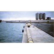 Строительство портов и причалов. фото