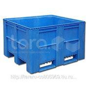 Пластиковый контейнер (Box Pallet) арт. 10-100-0А-EURO фото