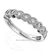 Кольца с бриллиантами A41486-1 фото