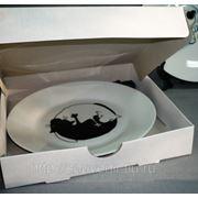 Самосборная коробка для тарелки 120мм фото