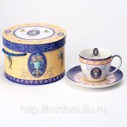 Чайная пара ваза с фруктами в подарочной упаковке 250мл (788491) фото