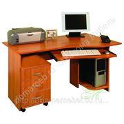 Лидер-4 письменный и компьютерный стол 2 в 1 фото