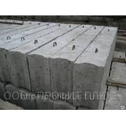 Фундаментный блок 2400х600х600 б/у фото