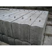 Бетонные блоки ФБС 12.5.3-Т фото
