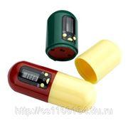 """Контейнер для таблеток с таймером """"НАПОМИНАТЕЛЬ"""" (Peel box timer) фото"""