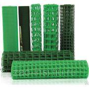 Сетка пластиковая ШЯч.:40/40, ширина 1000 мм, длина 30 п.м фото
