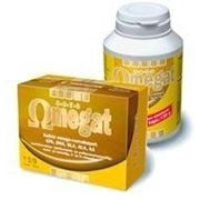 Рыбий жир Omegat 3-6-7-9 EPA+DHA+GLA+ALA+витД+витЕ 180 капсул. фото