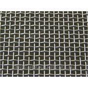 Сетка тканая нержавеющая 2мм фото