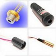 Красные, зелёные и инфракрасные одномодовые лазерные диоды 5 до 100 мВт фото