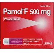 Парацетамол Pamol F 500 мг жаропонижяющее ср-во в табл. фото