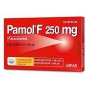 Парацетамол Pamol F 250 мг жаропонижяющее ср-во в табл. фото