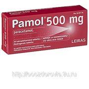 Парацетамол Pamol F 500 мг жаропонижяющее ср-во 30 табл. фото