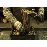 Обработка отходов и лома драгоценных металлов фото