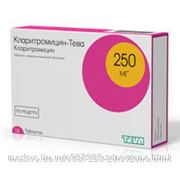 Кларитромицин-Тева 250мг №14 таблетки фото