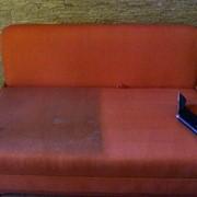 Химчистка тканевой обивки диванов фото
