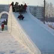 Оформление льдом мероприятий фото
