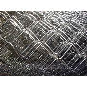 Сетка рабица оцинкованная 50х50х2,5 рулон 2х10 м фото