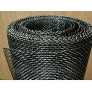 Сетка тканая черная 2.5х2.5мм / д.0.4мм / 1х30м фото