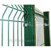 Заборные секции оцинкованные ПВХ для ограждения 2,00х2,5м / 50х100 /ф.4 фото