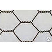 Сетка крученная с шестиугольными ячейками оцинкованная фото