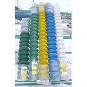 Сетка-рабица в пластике 40х40 диам.2.8 рулон 1х10 м фото