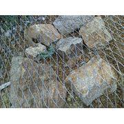 Сетка металлическая для укрепления склонов фото