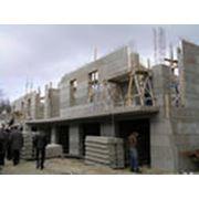 Строительство промышленных объектов. фото