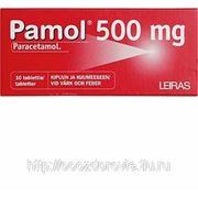 Парацетамол Pamol F 500 мг жаропонижяющее ср-во 10 табл. фото