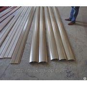 Блок хаус из древесно-полимерного композита (ДПК) фото