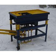 Вибропресс СГС-2 для произвдства блоков блоков и тротуарной плитки фото