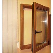 Окна деревянные поворотно-откидные фото